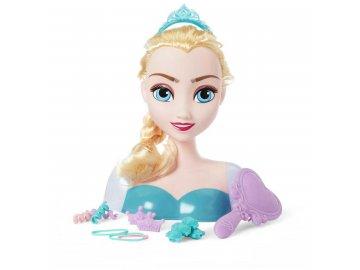 IMC TOYS Frozen Ledové Království Česací hlava Elsa s doplňky