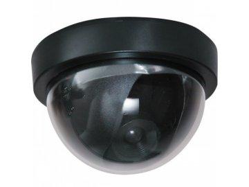 Nejlevnější atrapa kamery kulatá černá LED dioda
