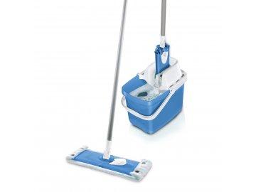 Leifheit sada na vytírání Combi Clean M modrý