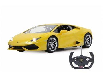 Jamara RC Auto Lamborghini Huracán RTR Se Světly 1 ku 14 Žlutá