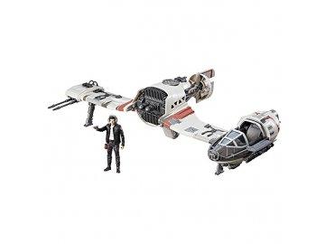 Hasbro Star Wars epizoda 8 Resistance Ski Speeder Force Link