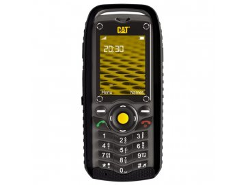 Odolný mobilní telefon Caterpillar CAT B25 Dual SIM, černý