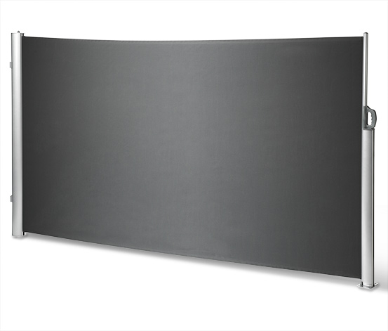 Tarrington House Boční markýza Cultis 350x180 cm antracit/šedá - POŠKOZENÁ TRUBKA VIZ FOTO
