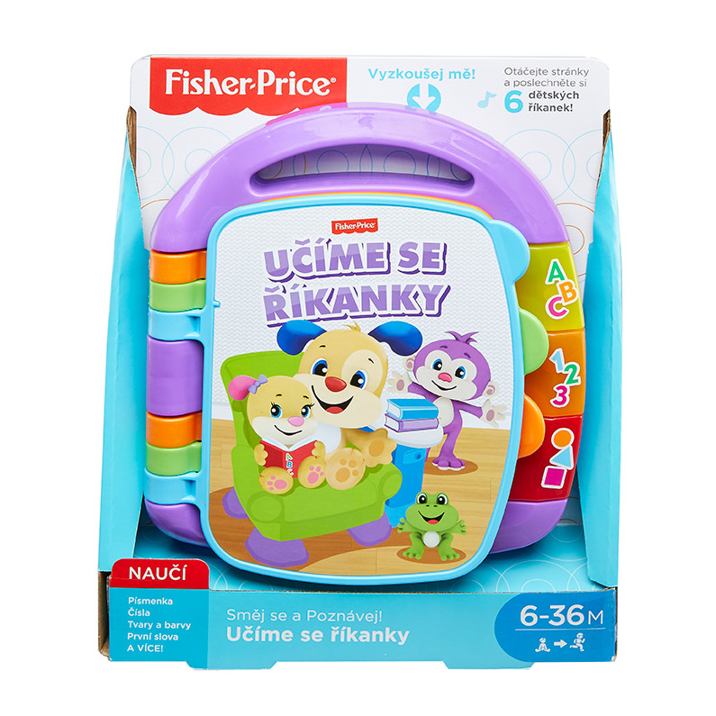 Mattel Fisher Price Učíme se říkanky