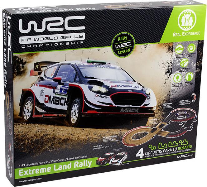 WRC Autodráha Extreme Land Rally 1:43, 5 m