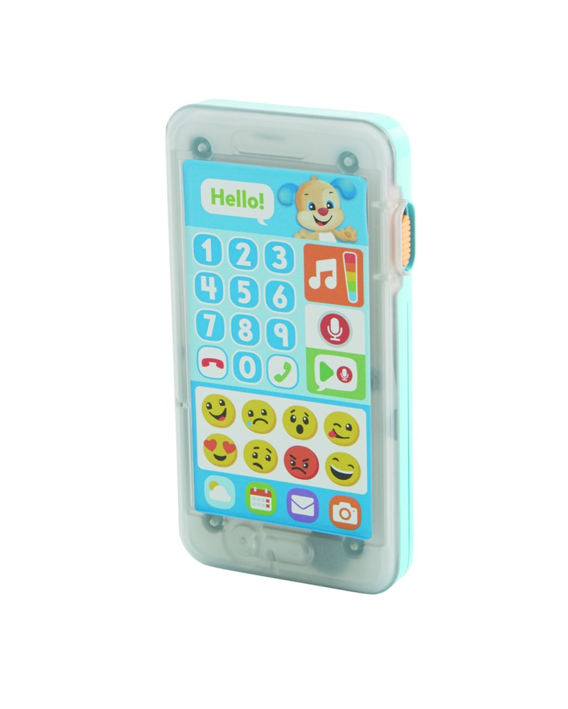 Fisher-Price Mattel Fisher Price emoji chytrý telefon