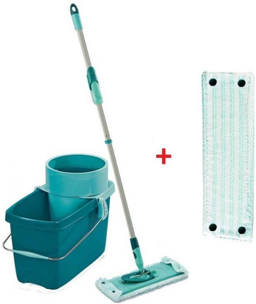 Leifheit Clean Twist Extra soft M rotační mop + 52024 Twist náhrada k mopu