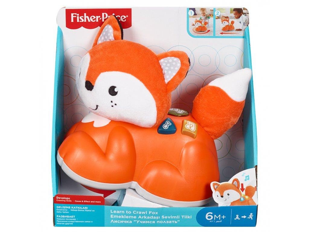Fisher-Price Fisher Price Lezeme s liškou CZ