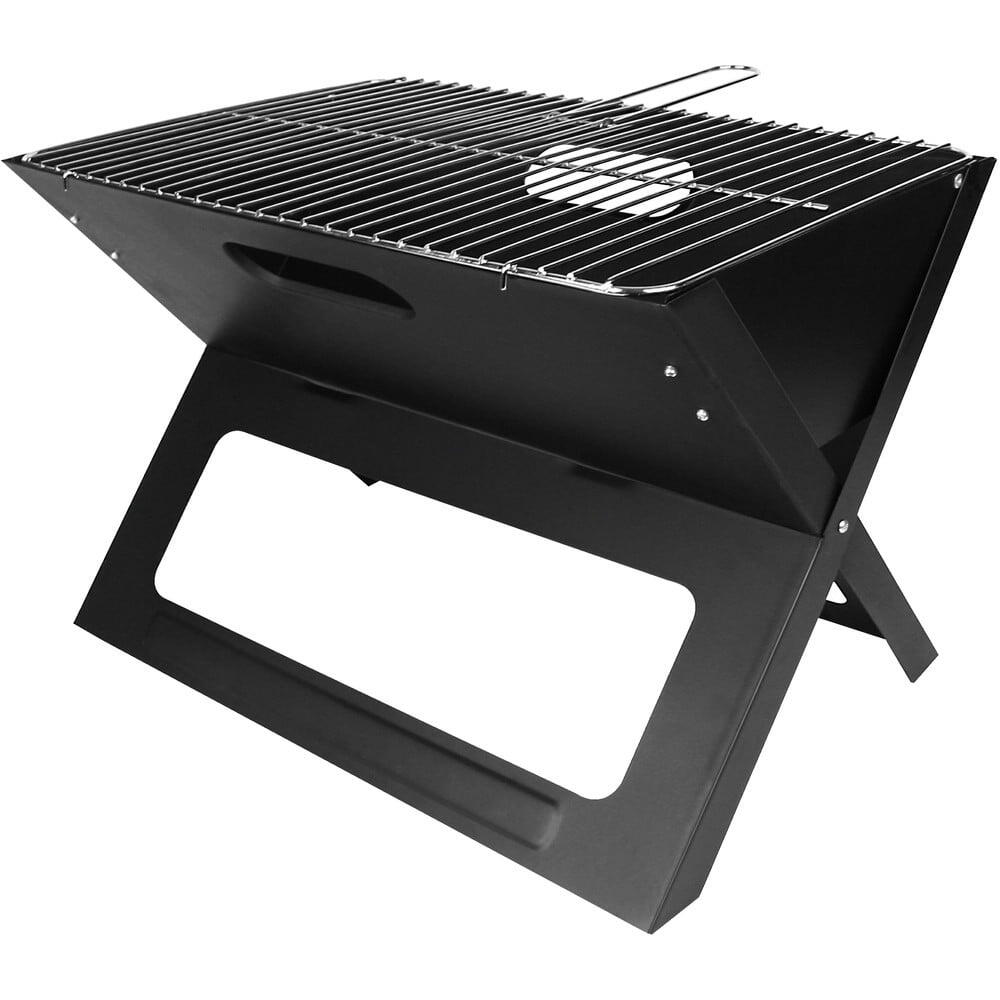 Kovový skládací gril na dřevěné uhlí Vetro Plus 50BBQ0162