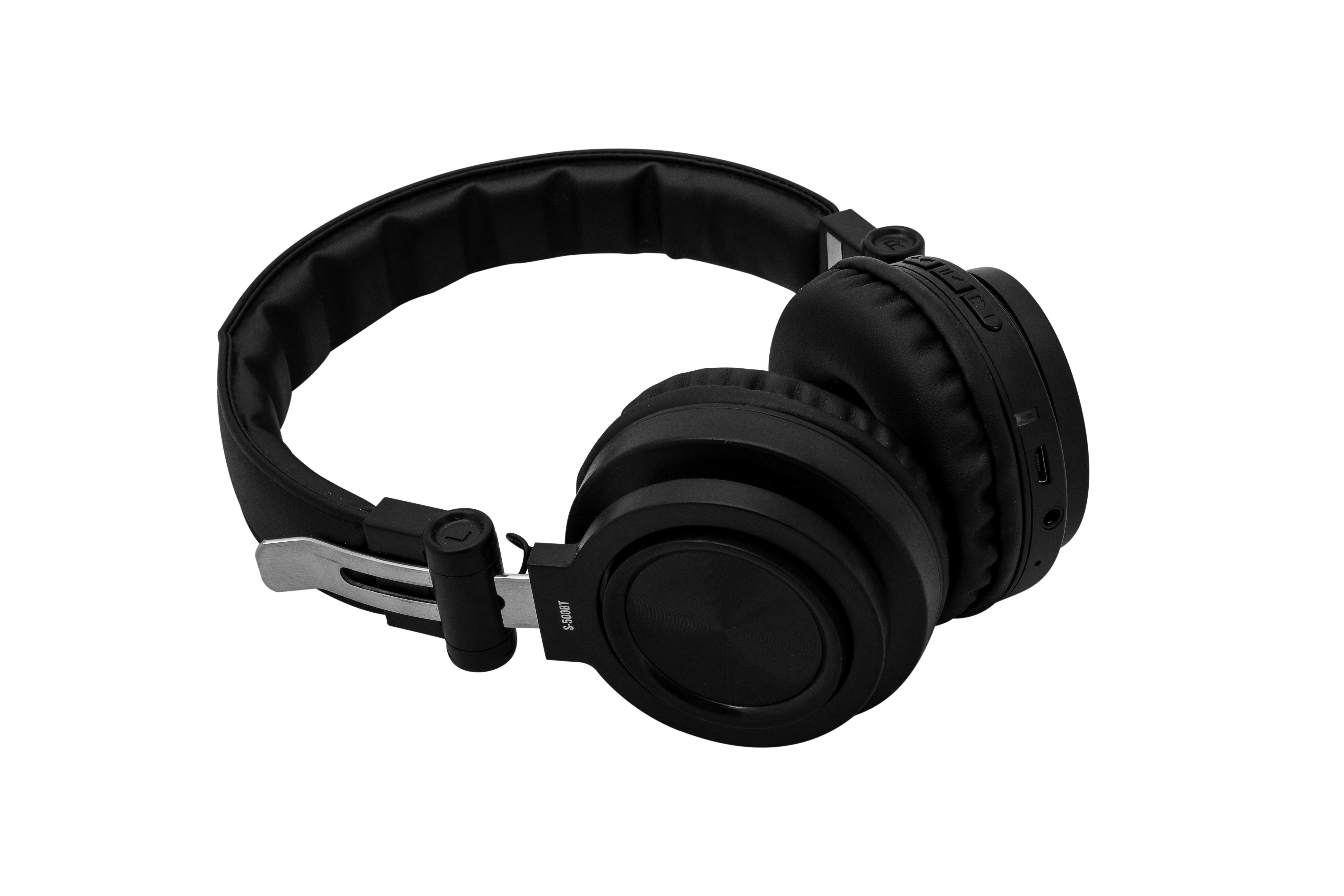 Bezdrátová sluchátka s MP3 přehrávačem Orava S-500 BT
