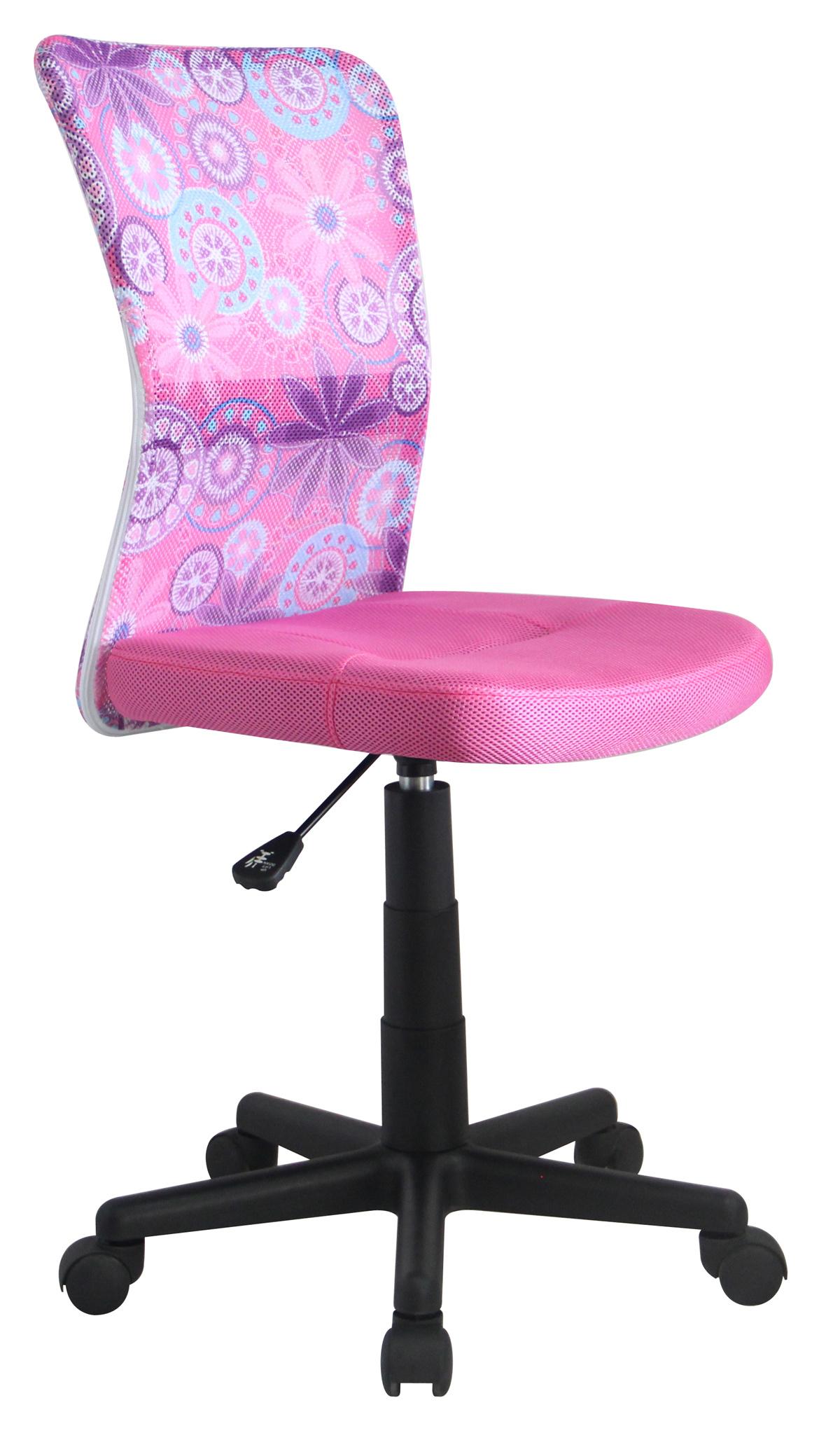 Halmar Dětská židle DINGO, růžová - SKUTEČNĚ SKLADEM! DNES ODESÍLÁME