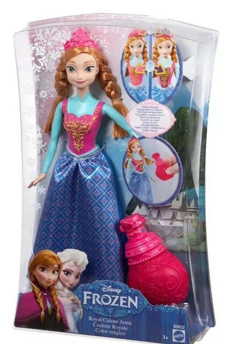 Levně Mattel Matttel Disney panenka Frozen Ledové Království ANNA a kouzelný parfém BDK32