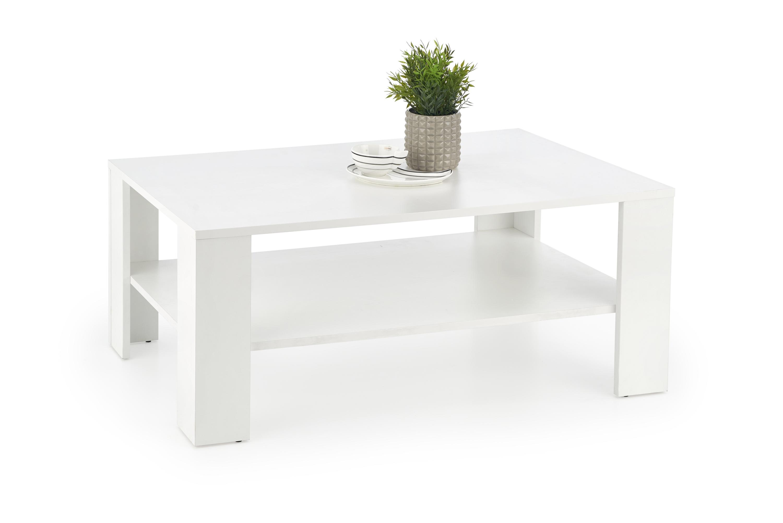 Levně Halmar konferenční stůl Kwadro bílý