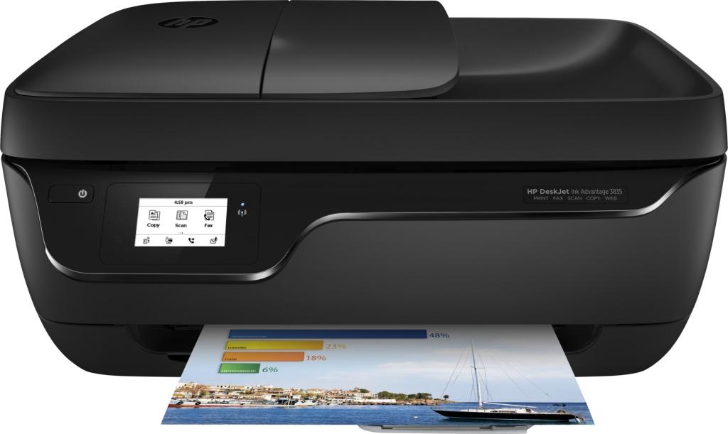 Multifunkční inkoustová tiskárna HP Deskjet Ink Advantage 3835 F5R96C
