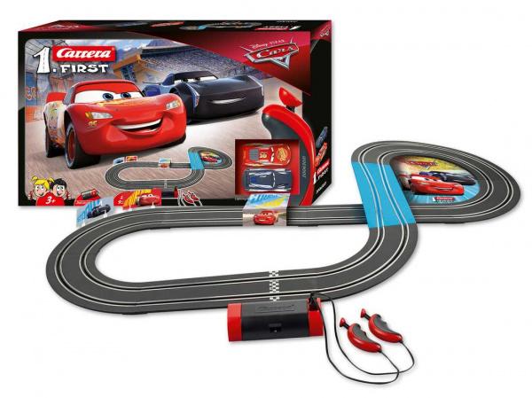 Autodráha Carrera FIRST - 63021 Disney Cars