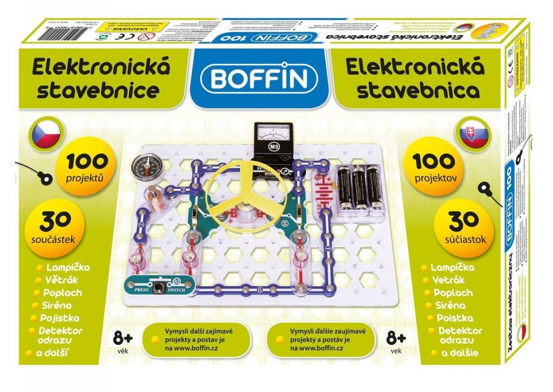 Levně Elektronická stavebnice Boffin I 100