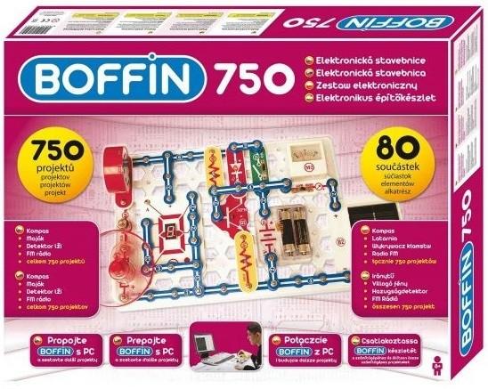 Elektronická stavebnice Boffin I 750