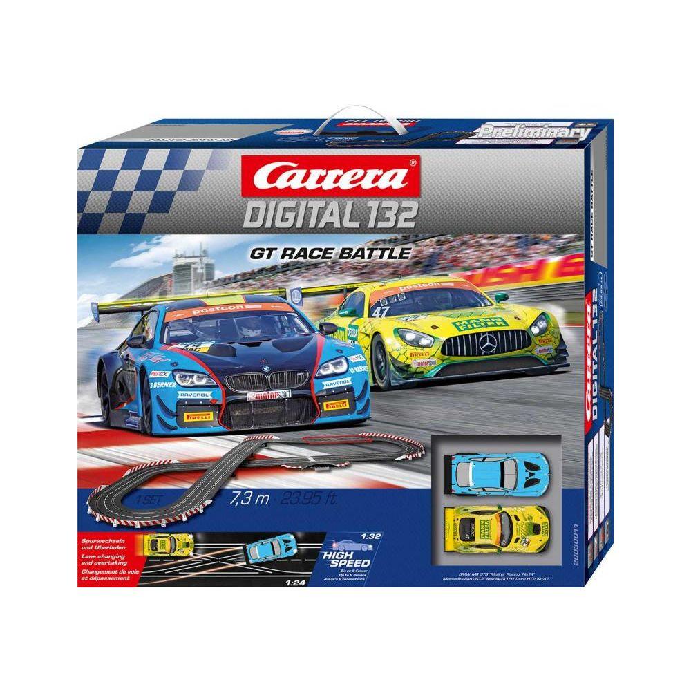 Carrera Autodráha D132 30011 GT Race Battle