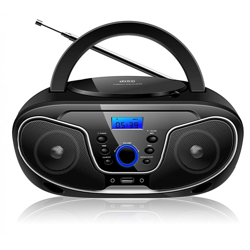BRAVO CD přehrávač s USB/Bluetooth B-6037 Barva: Černá