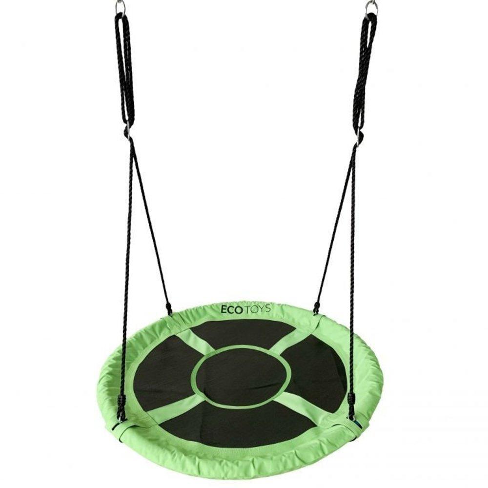 KidLand Houpací kruh 110 cm zelený