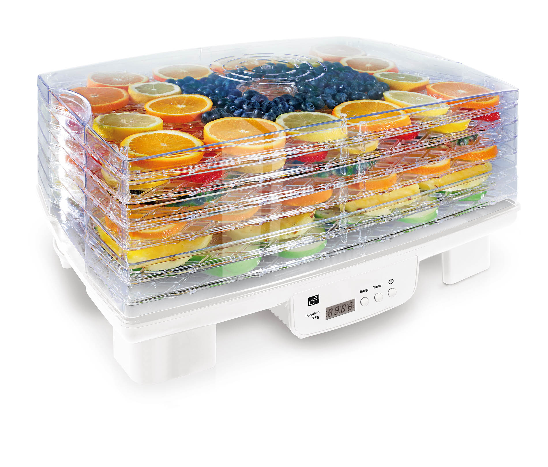 Sušička ovoce a potravin G21 Paradiso big, bílá