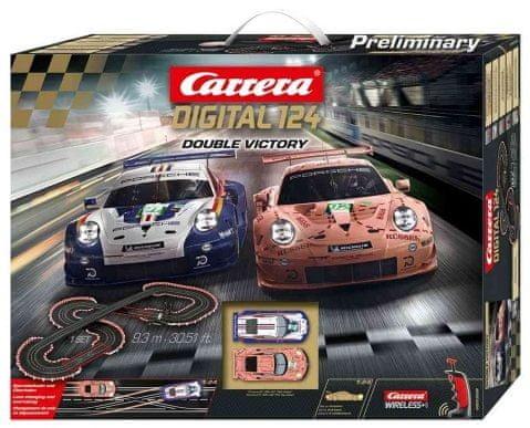 Levně Carrera D124 23628 Double Victory
