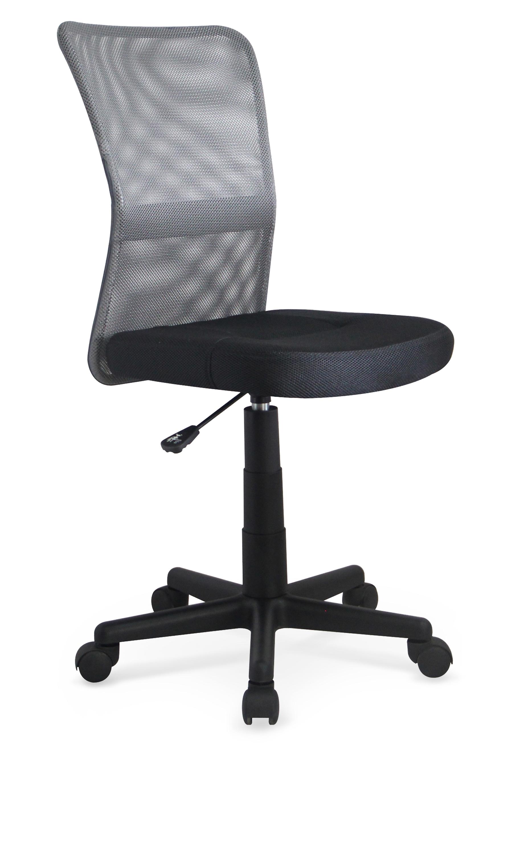 Dětská otočná židle Halmar DINGO šedá