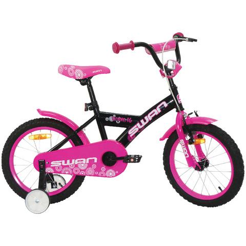 """Dětské jízdní kolo Actim Diana 16"""" fialovo-bílé 2021 dívčí"""