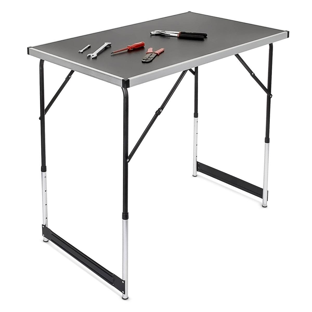 ABC Hliníkový skládací prodejní pult stůl stolek