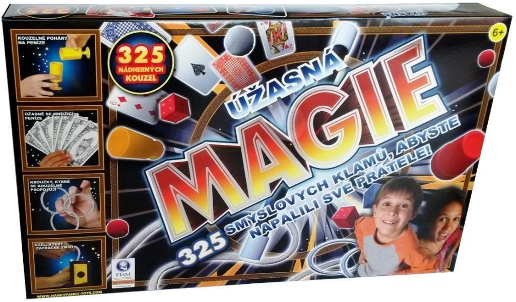 HankyPanky Úžasná magie 325 kouzel a triků - DOPRAVA OD 49,- Kč (ZÁSILKOVNA.CZ)
