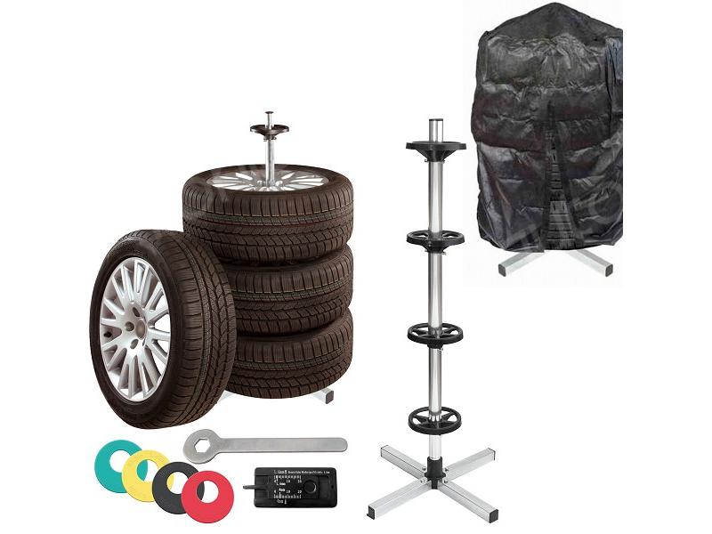 Stojan na pneumatiky s příslušenstvím - DOPRAVA ZA 49,- Kč (ZÁSILKOVNA.CZ)