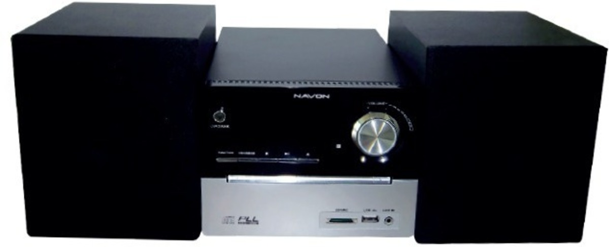 Mikro hifi systém Navon NMH100 CD/MP3/USB/SD karty - DOPRAVA OD 49,- Kč (ZÁSILKOVNA.CZ)
