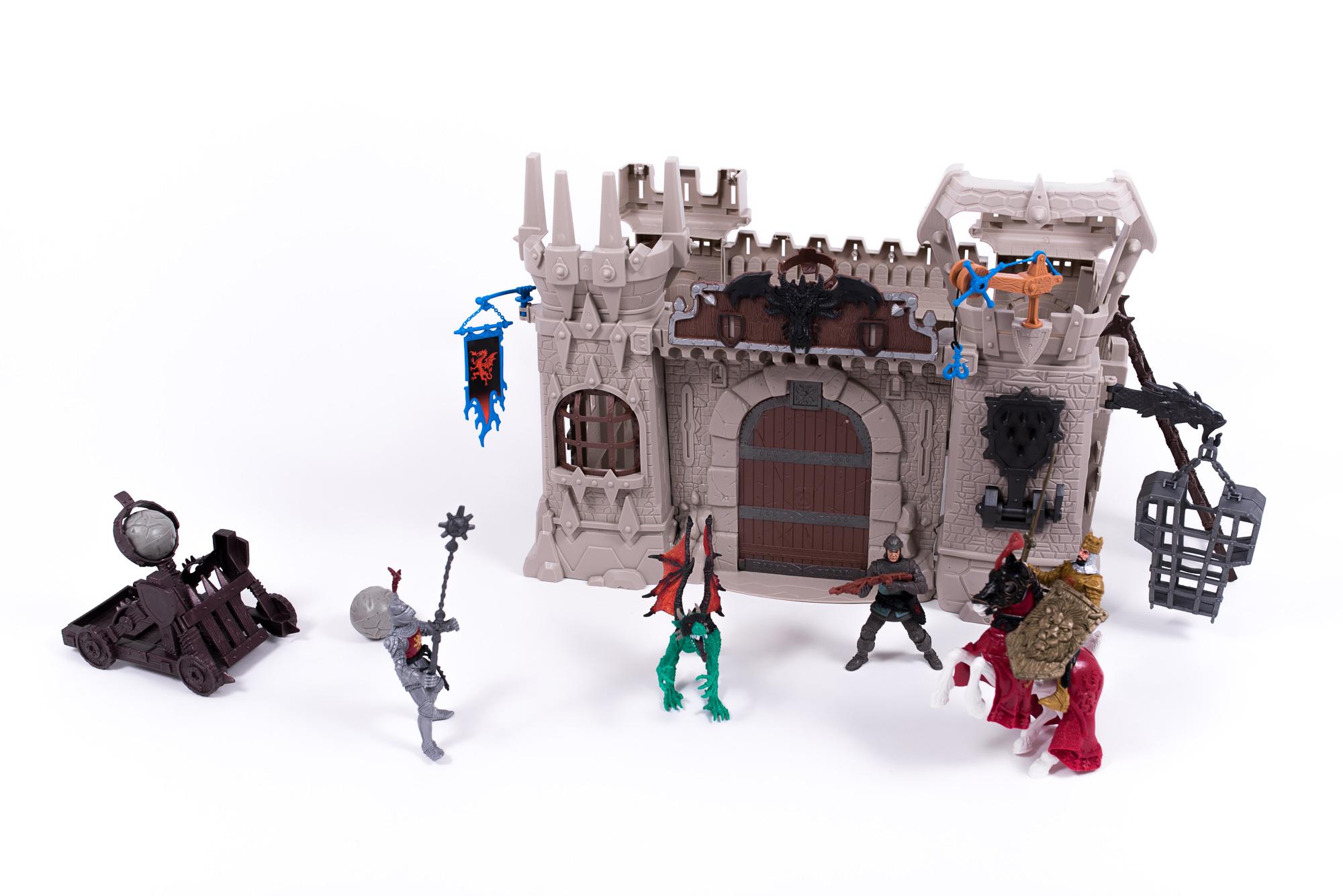 Alltoys Středověký rytířský hrad s doplňky