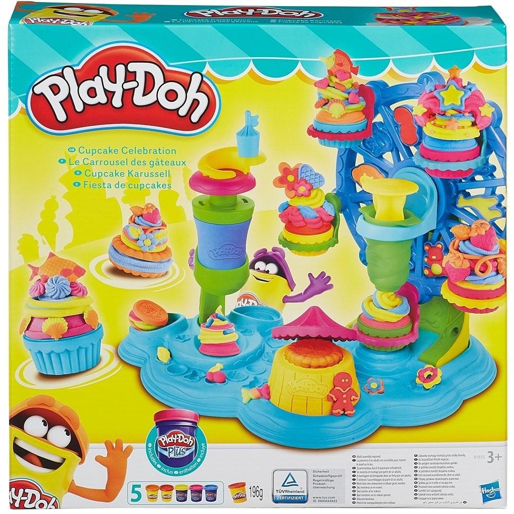 Play Doh - Dortíčková Cupcake Oslava - DOPRAVA OD 49,- Kč (ZÁSILKOVNA.CZ)