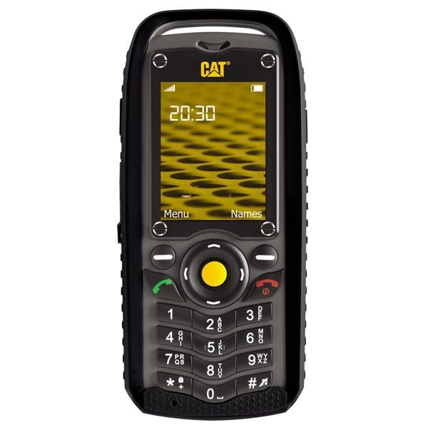 Odolný mobilní telefon Caterpillar CAT B25 Dual SIM, černý - VRÁCENÝ KUS LEHCE POŠKRÁBANÝ