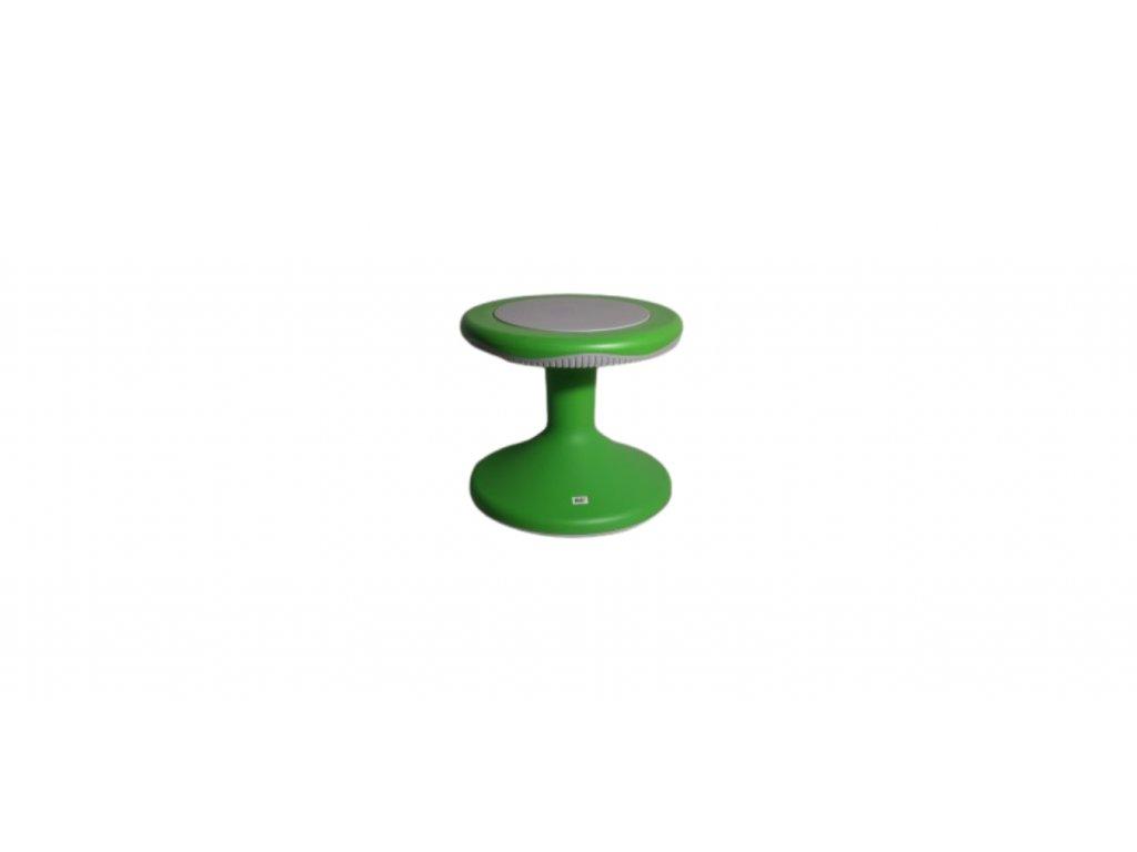 Balanční stolička 31 cm zelená