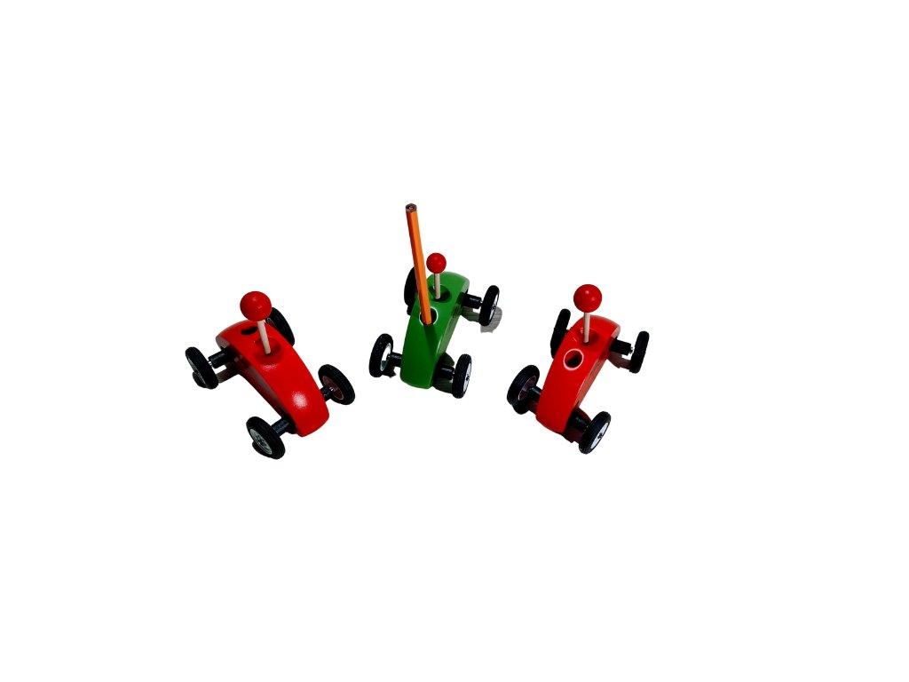 Autíčka fingercar set pk3 + náhradní pneu