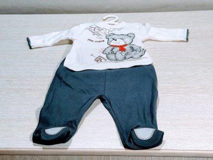 obleček dvoudílný s medvídkem1