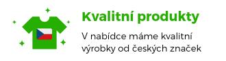 Kvalitní produkty od českých výrobců