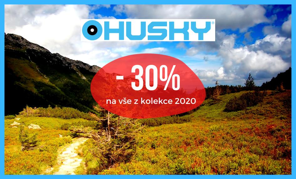 Sleva 30% na Husky produkty