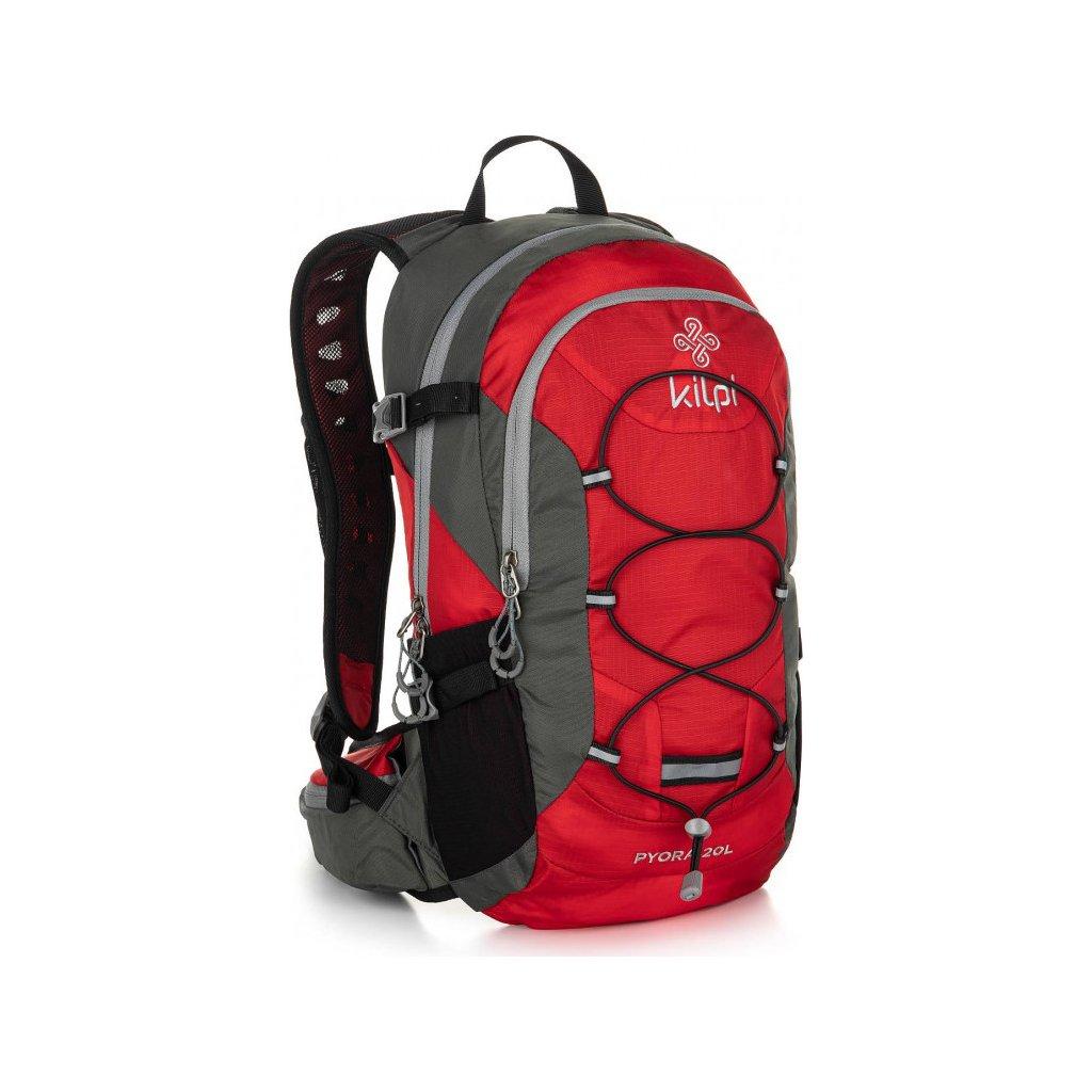 Turistický batoh KILPI Pyora-u červená