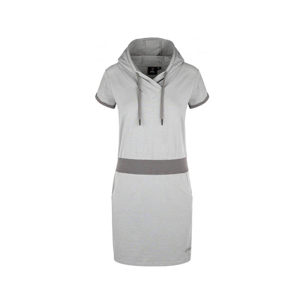 Dámské šaty KILPI Misson-w světle šedá
