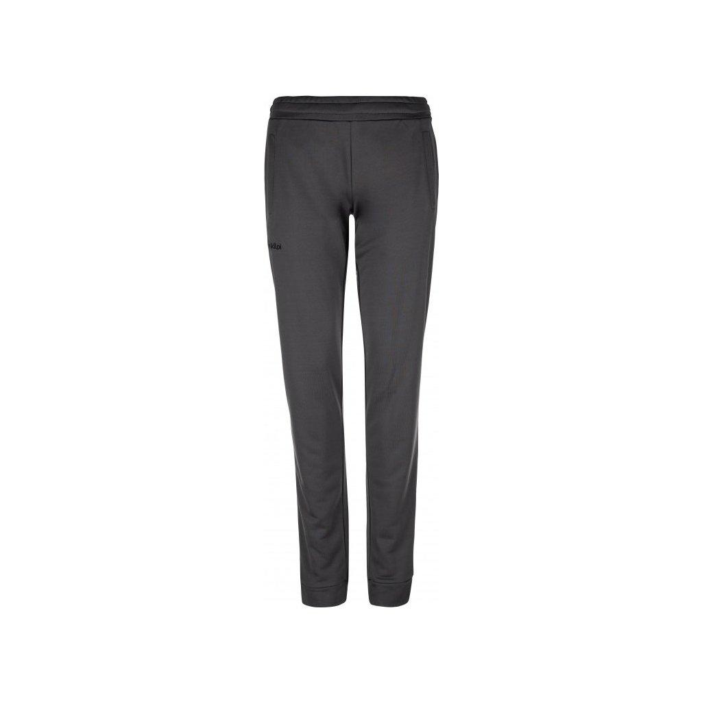 Dámské volnočasové kalhoty KILPI Matty-w tmavě šedá