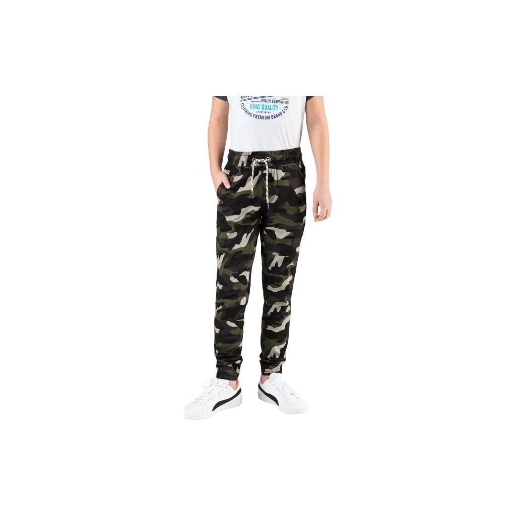 Chlapecké kalhoty SAM 73 khaki