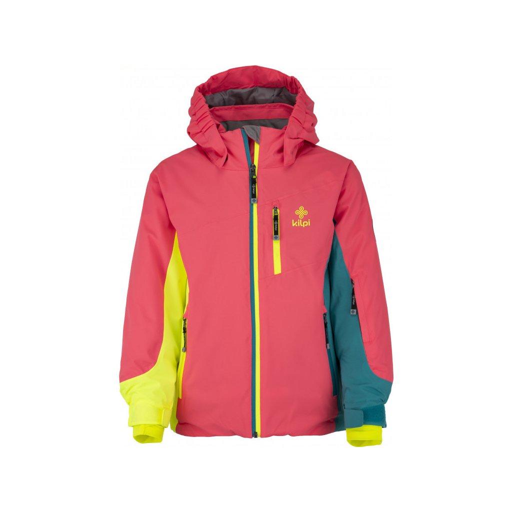 Dívčí lyžařská bunda KILPI Sawa-jg růžová