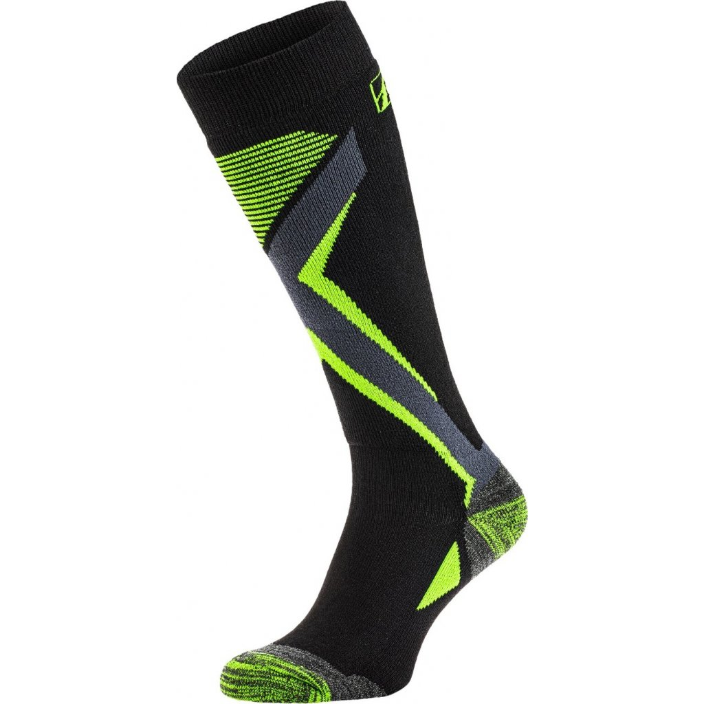Lyžařské ponožky RELAX Thunder žlutá