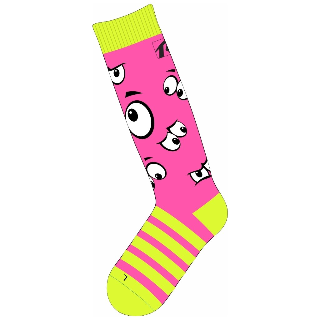 Dětské lyžařské ponožky RELAX Happy růžová