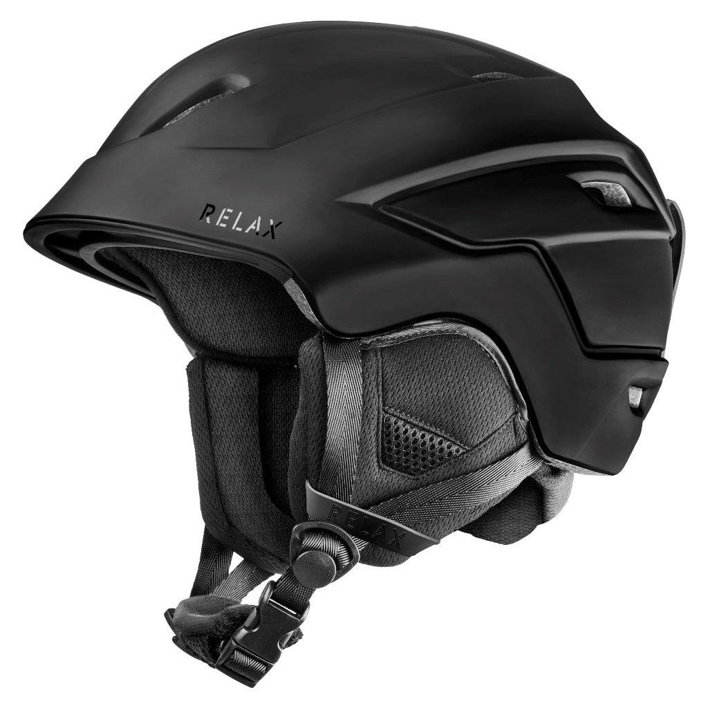 Lyžařská helma RELAX Bat černá