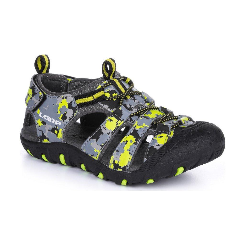 Dětské sandály LOAP Dopey černá