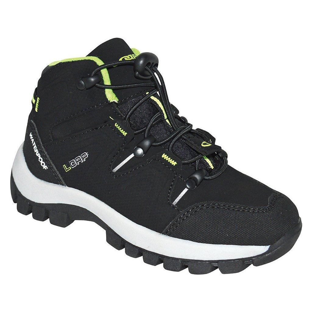 Dětské outdoorové boty LOAP Tarby černá